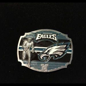 Philadelphia Eagles Belt Buckle.